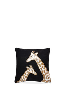 Jonathan AdlerAnimalia bead giraffe pillow