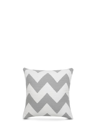 Jonathan Adler-Pop zigzag cotton pillow