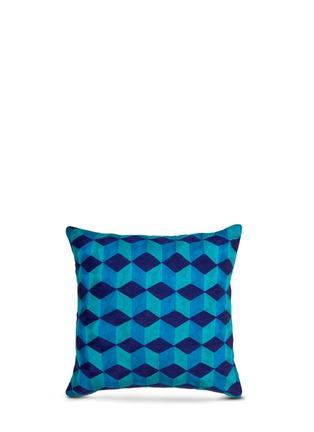 首图 –点击放大 - JONATHAN ADLER - Jaipur立方体图案靠垫