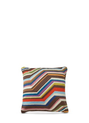 Jonathan Adler - Multi bargello zigzag throw pillow