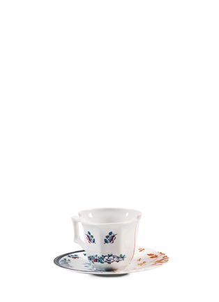 Seletti - Hybrid Leonia coffee cup and saucer set