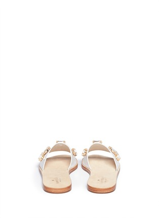Back View - Click To Enlarge - Kate Spade - 'Avila' jewel leather sandals