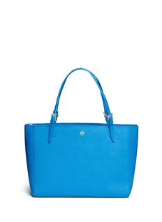 TORY BURCH'York' buckle saffiano leather tote
