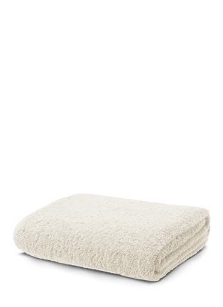 Main View - Click To Enlarge - Abyss - Super Pile bath sheet — Ivory