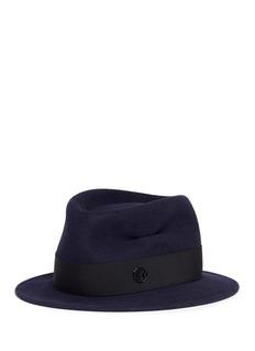 Maison Michel'Jim' swirl rabbit furfelt fedora hat