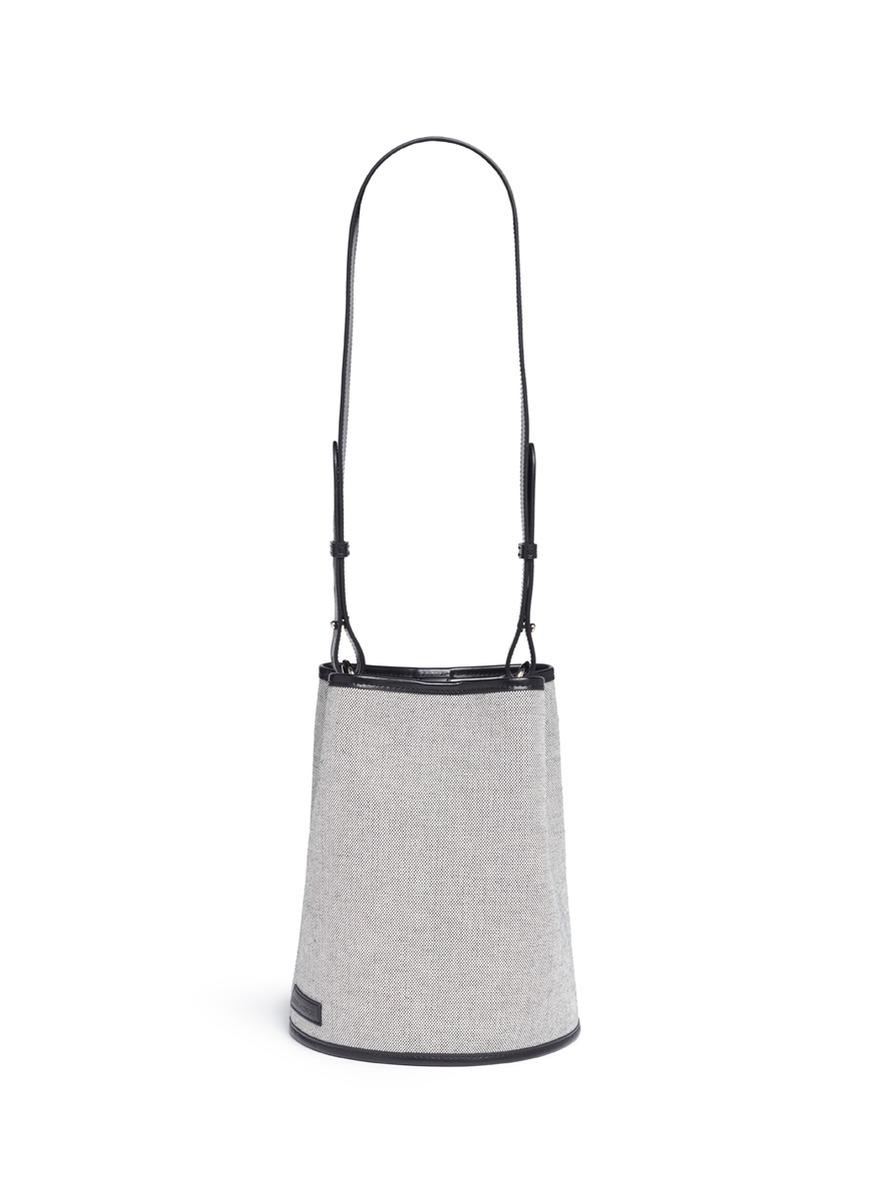 Medium canvas bucket bag by Creatures Of Comfort