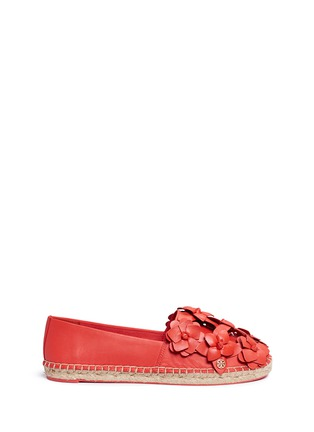 Main View - Click To Enlarge - Tory Burch - 'Blossom' floral leather espadrilles
