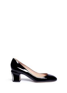 Valentino'Tan-Go' patent leather pumps