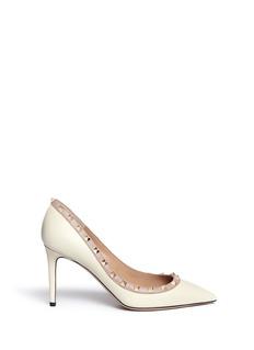Valentino 'Rockstud' colourblock calfskin leather pumps