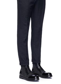 Marsèll'Zucca Zeppa' toe cap leather boots