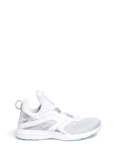 Athletic Propulsion Labs 'Cielo' metallic leather trim Techloom sneakers
