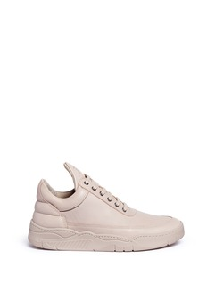 Filling Pieces 'Monotone Space' leather low top sneakers