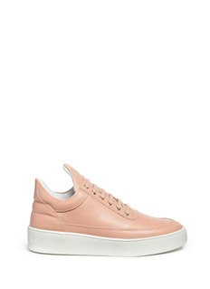 Filling Pieces 'Cleo' leather low top sneakers