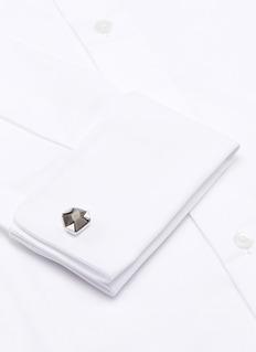 LanvinSodalite gemstone cufflinks