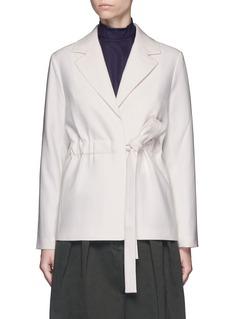 FFIXXED STUDIOSTie waist wool blazer