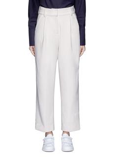 FFIXXED STUDIOSPleated wide leg felted wool trousers