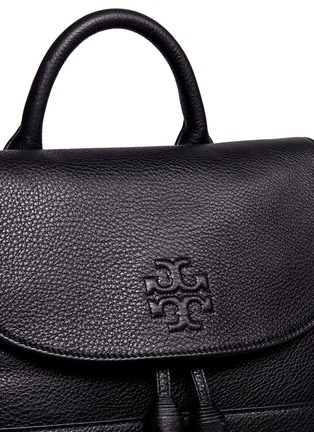 Detail View - Click To Enlarge - Tory Burch - 'Thea' leather backpack