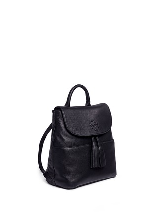 Front View - Click To Enlarge - Tory Burch - 'Thea' leather backpack