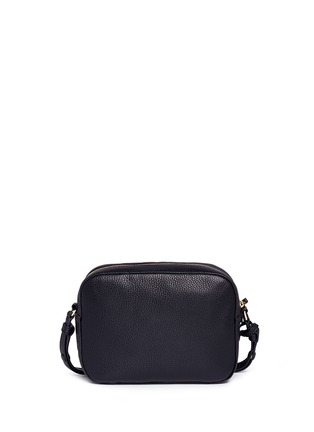 Back View - Click To Enlarge - Tory Burch - 'Thea' pebbled leather crossbody tassel bag
