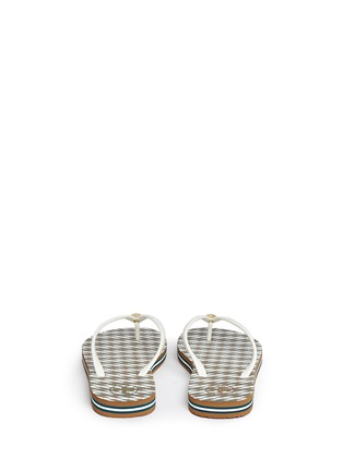 Back View - Click To Enlarge - Tory Burch - 'Thin' Ravenna print flip flops