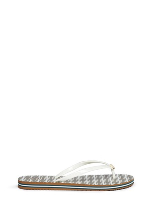 Main View - Click To Enlarge - Tory Burch - 'Thin' Ravenna print flip flops