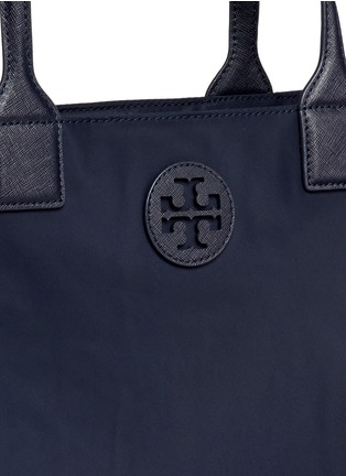 Detail View - Click To Enlarge - Tory Burch - 'Ella' packable nylon tote