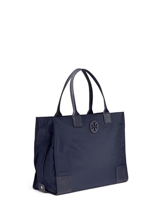 Front View - Click To Enlarge - Tory Burch - 'Ella' packable nylon tote