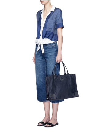 Figure View - Click To Enlarge - Tory Burch - 'Ella' packable nylon tote