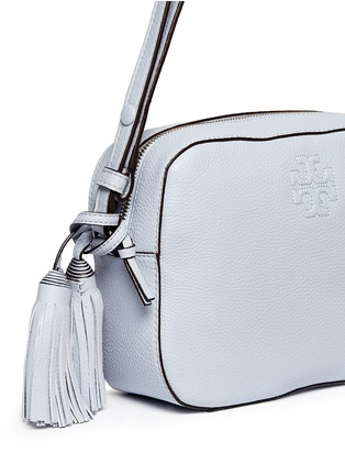 Tory Burch - 'Thea' pebbled leather crossbody tassel bag