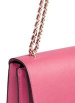 'Robinson' convertible saffiano leather chain bag