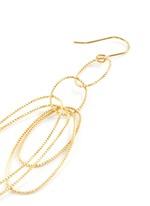 Multi oval loop earrings