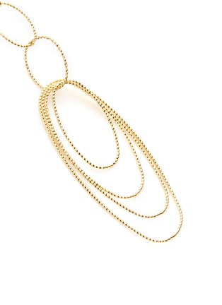 Detail View - Click To Enlarge - Kenneth Jay Lane - Multi oval loop earrings