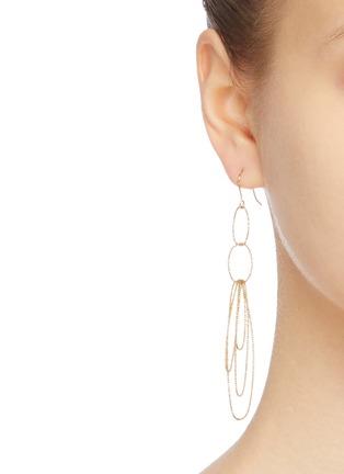 Figure View - Click To Enlarge - Kenneth Jay Lane - Multi oval loop earrings