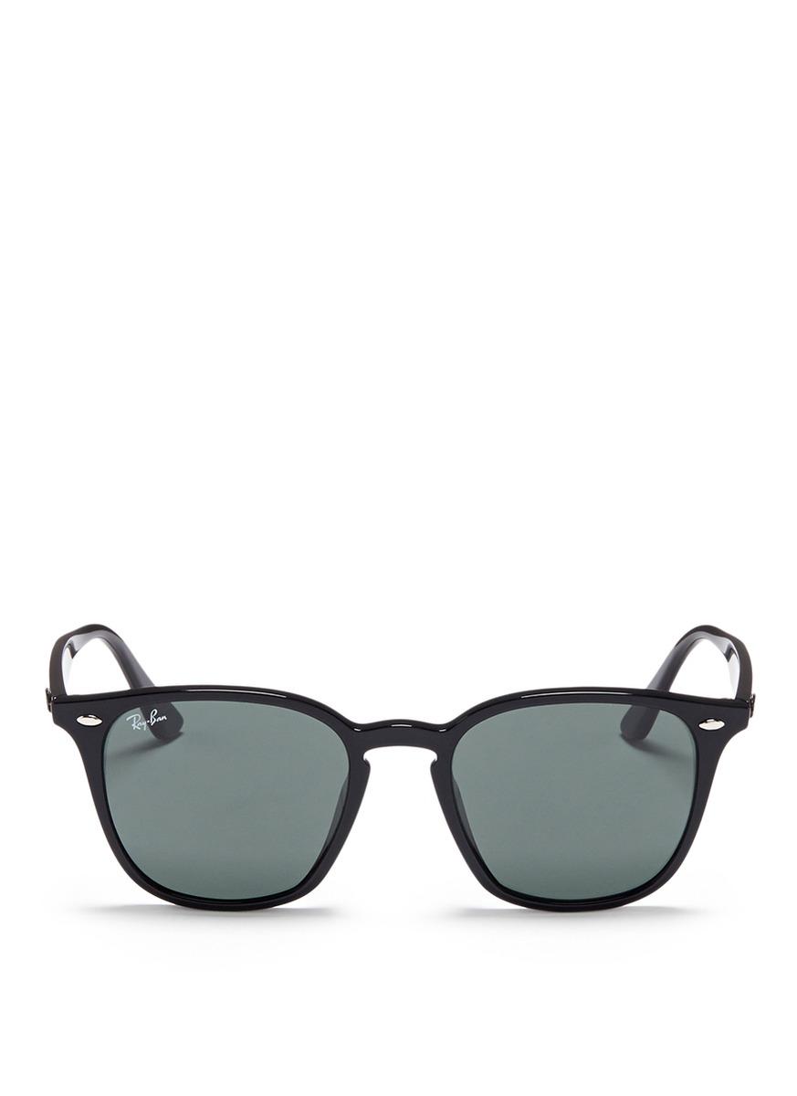 rayban female rb4258 acetate square sunglasses