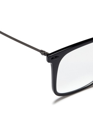 Detail View - Click To Enlarge - Ray-Ban - 'RX7086 Light Ray' titanium acetate optical glasses