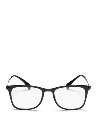 Main View - Click To Enlarge - Ray-Ban - 'RX7086 Light Ray' titanium acetate optical glasses