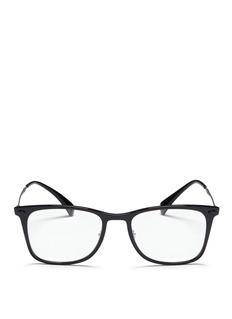 Ray-Ban'RX7086 Light Ray' titanium acetate optical glasses