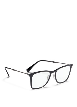 Figure View - Click To Enlarge - Ray-Ban - 'RX7086 Light Ray' titanium acetate optical glasses