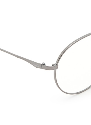 Detail View - Click To Enlarge - Ray-Ban - 'RB6369' round optical glasses