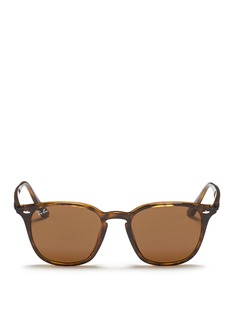 Ray-Ban 'RB4258' tortoiseshell acetate square sunglasses
