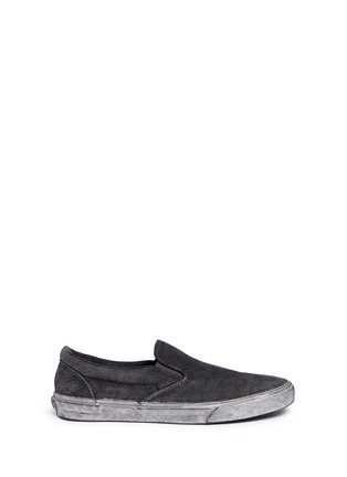Main View - Click To Enlarge - Vans - 'Classic' washed paisley print skate slip-ons