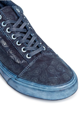 Detail View - Click To Enlarge - Vans - 'Old Skool Reissue' washed paisley print sneakers