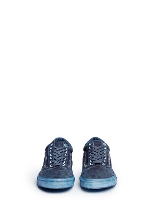 Front View - Click To Enlarge - Vans - 'Old Skool Reissue' washed paisley print sneakers