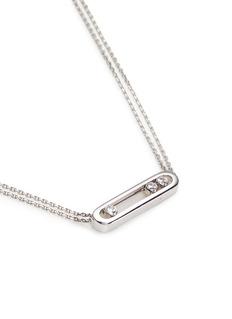 Messika'Move' diamond 18k white gold necklace