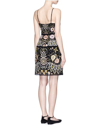 Back View - Click To Enlarge - Needle & Thread - 'Embroidery Floral' dress