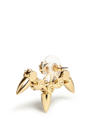 Joomi Lim-'Love Thorn' Swarovski crystal spike stud earrings