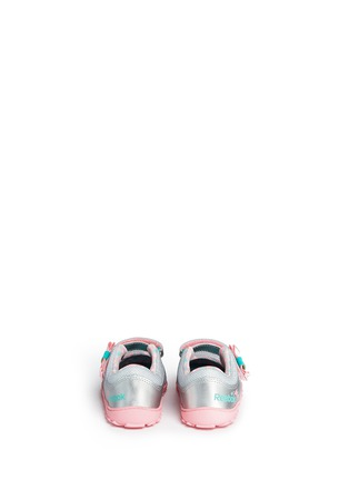 Back View - Click To Enlarge - Reebok - 'Elsa VentureFlex' toddler Mary Janes