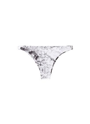 Main View - Click To Enlarge - Mikoh - 'Miyako' wave print basic bikini bottoms