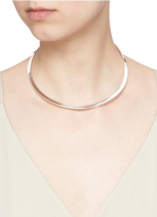 Figure View - Click To Enlarge - Sophie Buhai - Sterling silver collar necklace