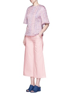 XU ZHIWoven silk tailored pants